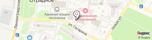 GOLD Stilista на карте Отрадного