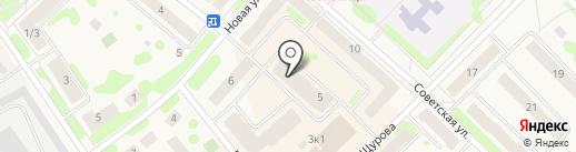 Силуэт на карте Отрадного