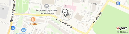Comepay на карте Отрадного