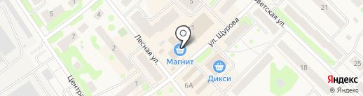 Эдан на карте Отрадного