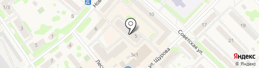 Магазин кондитерских изделий на карте Отрадного