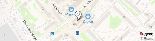 Рыбное Mesto на карте Отрадного