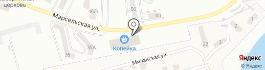 Конверсия на карте Крыжановки