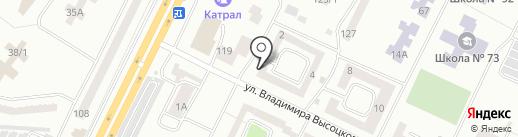 Лойер Береговой на карте Одессы
