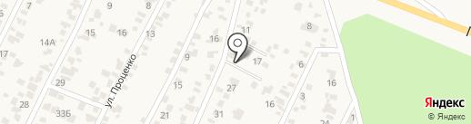 Крыжановка на карте Крыжановки