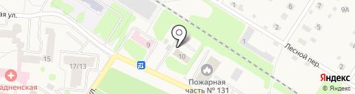 Салон внутридомового газового оборудования на карте Отрадного
