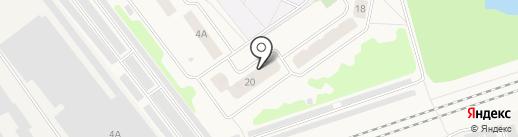 Гагарина-20, ТСН на карте Отрадного