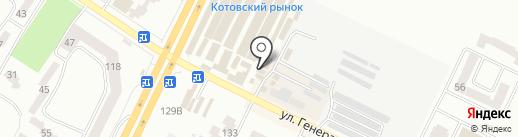 Кухонный мир на карте Одессы