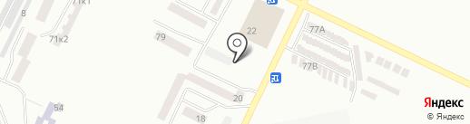 Зодиак на карте Одессы