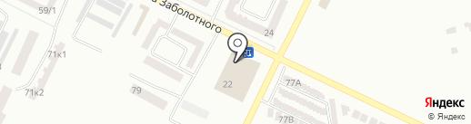 Папашон на карте Одессы