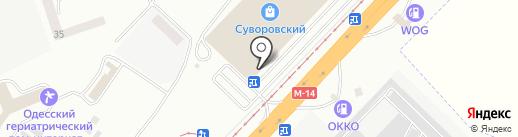 Candy Point на карте Одессы
