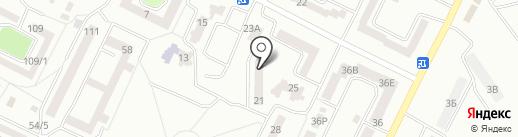 Светофор на карте Одессы