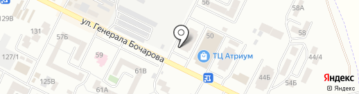 Медицинские профосмотры №1, ЧП на карте Крыжановки