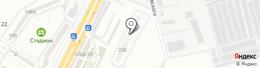 Теплый дом на карте Одессы