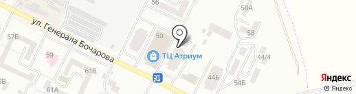 Евровет на карте Крыжановки