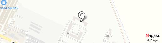 Лак на карте Крыжановки
