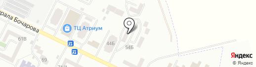 Одесская областная федерация Taekwon-do ITF на карте Крыжановки
