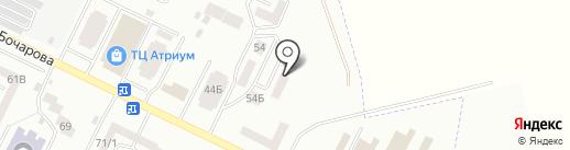 Нотариус Калинюк Р.Б. на карте Крыжановки