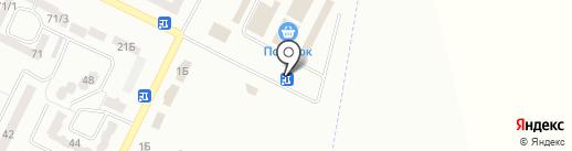 Банкомат, КБ ПриватБанк, ПАО на карте Лесок