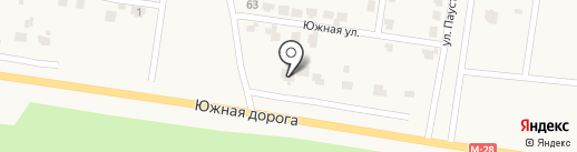 Колибри на карте Лесок