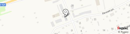 Мясная база на карте Отрадного
