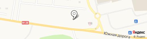 Landscape Cafe на карте Лесок