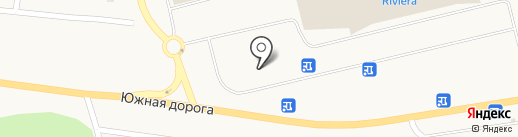 Автомойка на Ривьере на карте Фонтанки