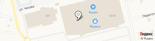 Золотая долина на карте Фонтанки