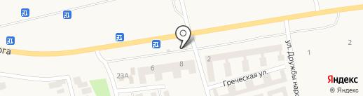 Ландшафтный центр Росток на карте Фонтанки