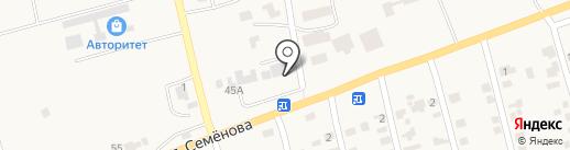 Ощадбанк, ПАТ на карте Фонтанки