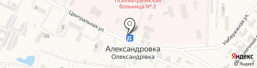 Магазин промтоваров на карте Александровки