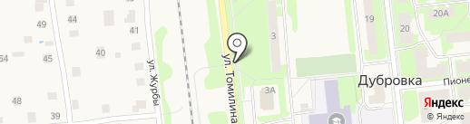 Магазин нижнего белья на карте Дубровки