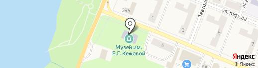 Районный центр дополнительного образования на карте Кировска