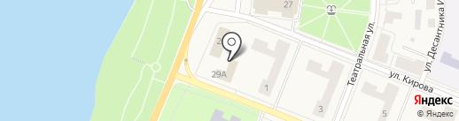 Управление Федеральной службы государственной регистрации, кадастра и картографии по Ленинградской области на карте Кировска
