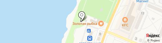 Бесплатный туалет на карте Кировска
