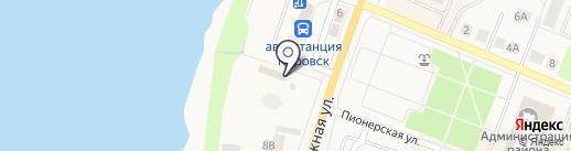 Церковь усекновения главы Иоанна Предтечи на карте Кировска