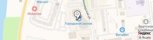Moby на карте Кировска