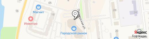 Магазин цветов и семян на карте Кировска