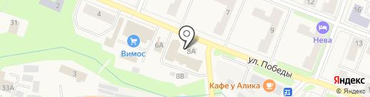 Северная на карте Кировска