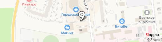 Ортопедический салон на карте Кировска