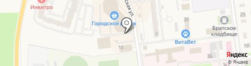 Общественный платный туалет на карте Кировска