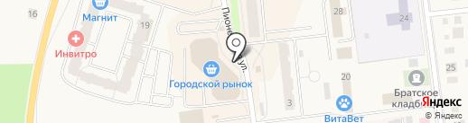 Связной на карте Кировска