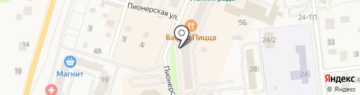 Платежный терминал, Петербургский социальный коммерческий банк на карте Кировска
