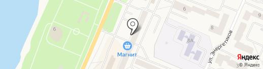 КБ Платина на карте Кировска