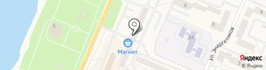 Магнит на карте Кировска