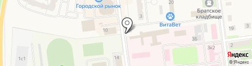 Магазин разливного пива на карте Кировска