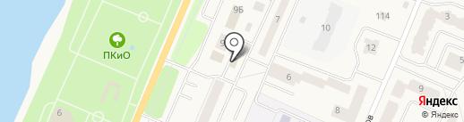 Инсар на карте Кировска