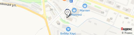 Магазин смешанных товаров на карте Кировска