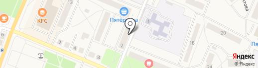 Мастерфайбр Ладога на карте Кировска