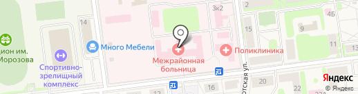 Поликлиника на карте Кировска